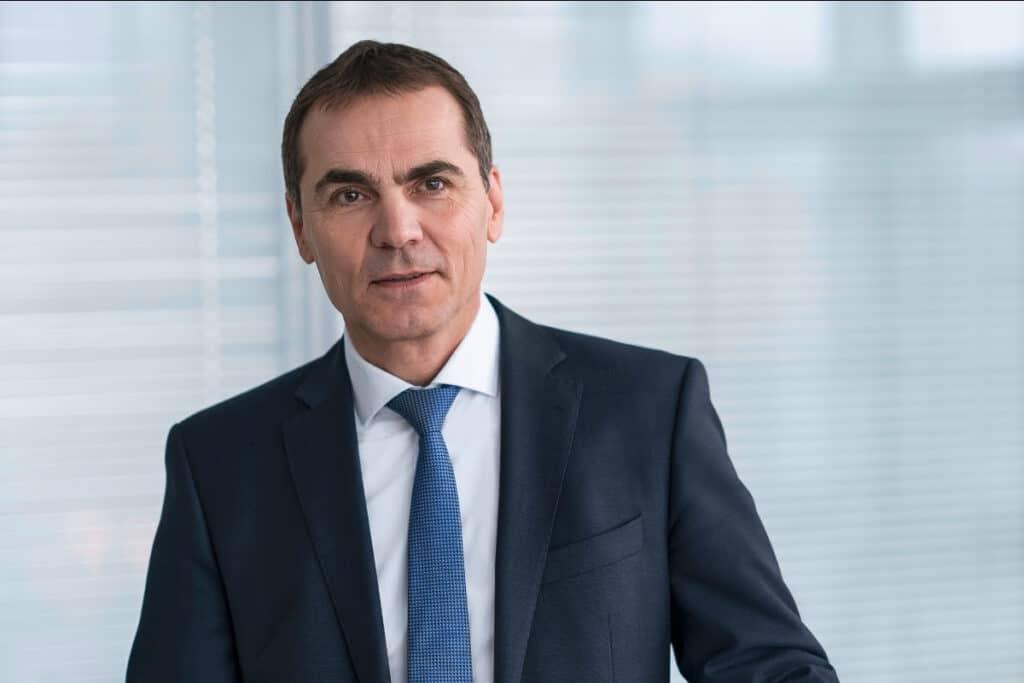Schaeffler-Technologievorstand Uwe Wagner.